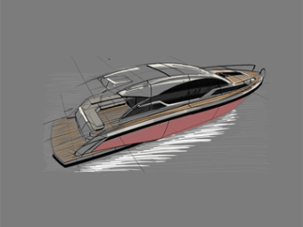 50 foot sportscruiser concept