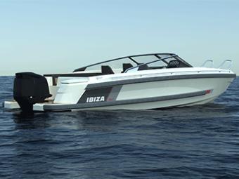IBIZA 760 sportscruiser