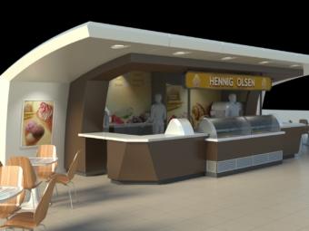 Hennig Olsen ice-cream parlor