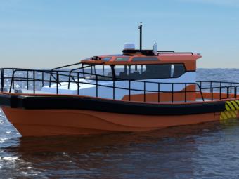 Norsafe Meteor 1380 workboat