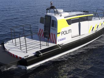 Munin 1200 police vessel